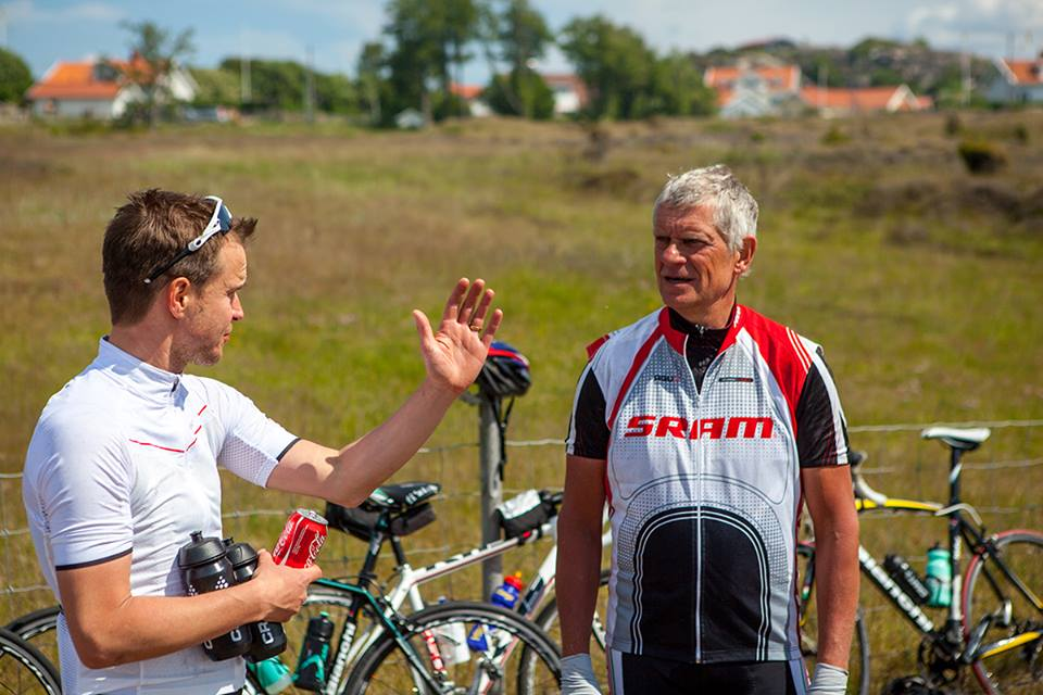 Mattias Carlsson i samspråk med legenden Tommy Prim