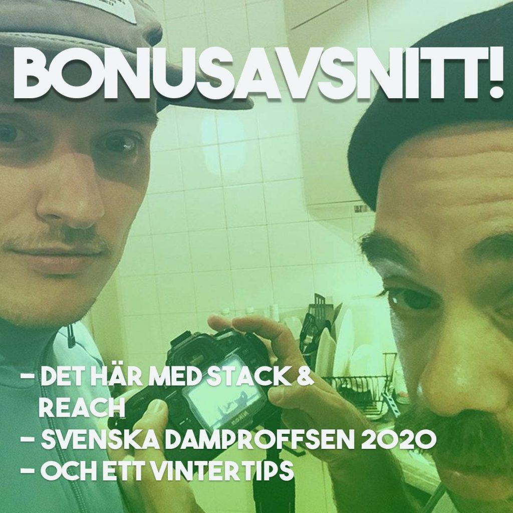 Niclas Haslum och Daniel Rytz med ett bonusavsnitt i Cykelwebbenpodden podcast.